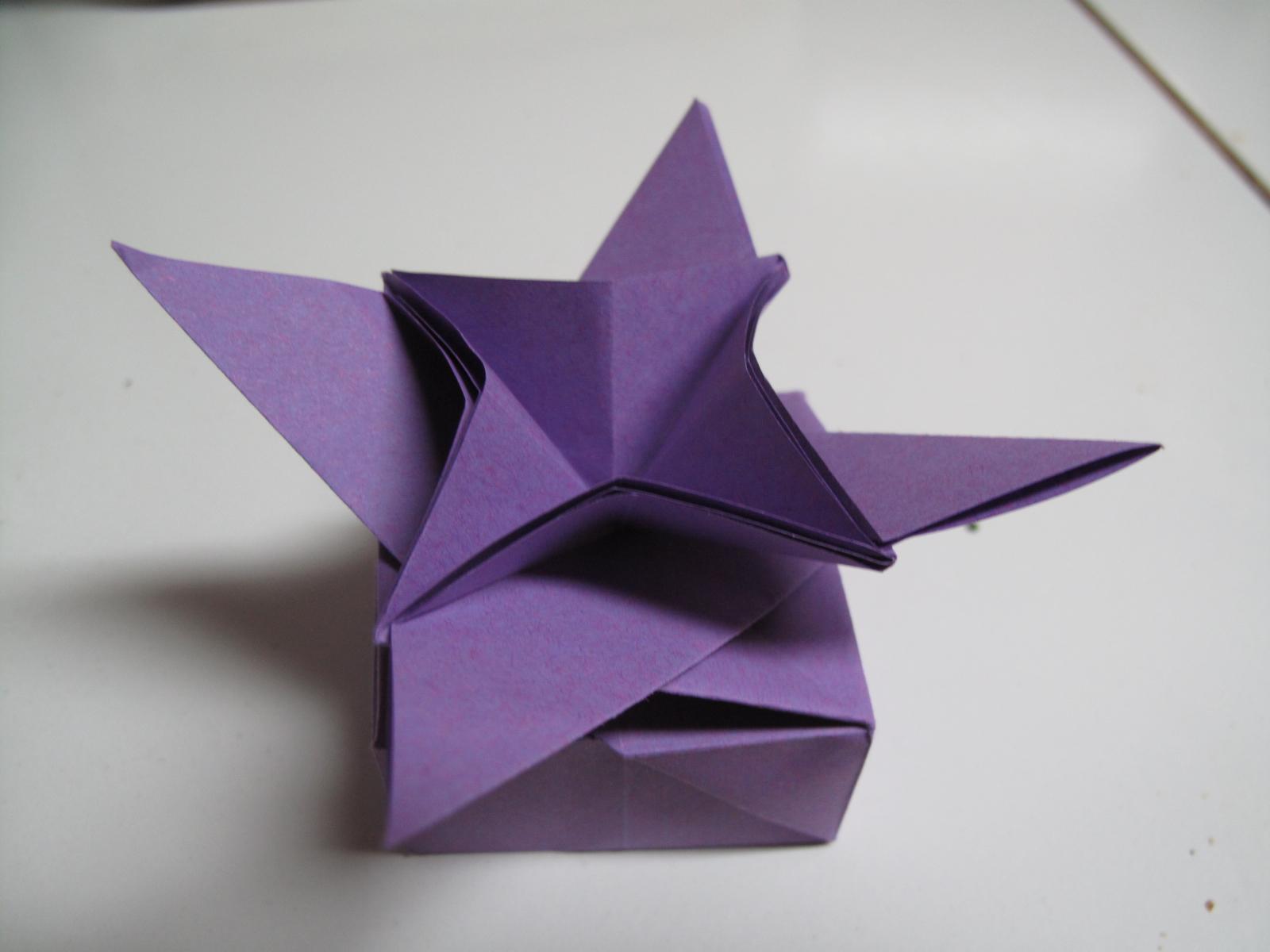 origami flower box | Bahamasblogg - photo#30