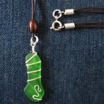 grön havsglas