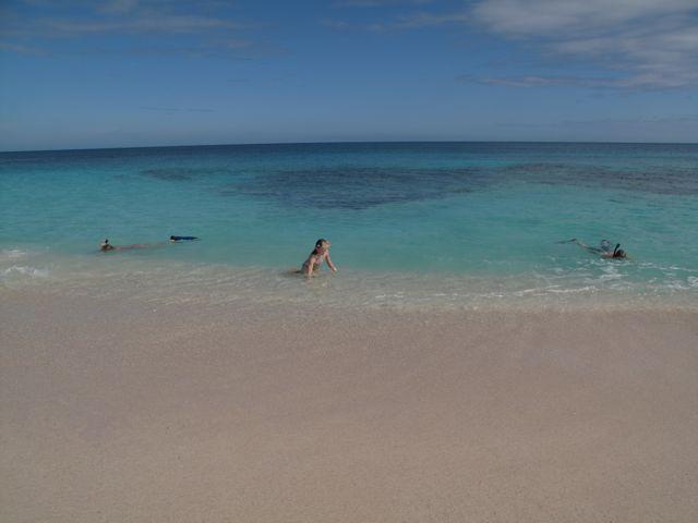 stranden nedanför BeachWalk