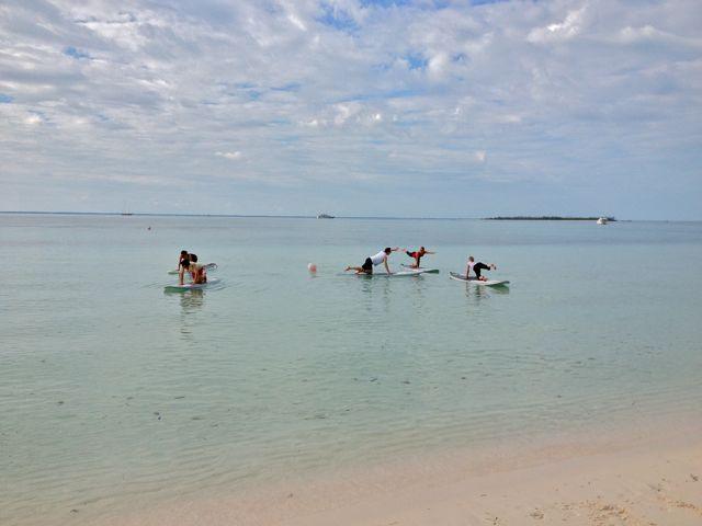 monday paddleboard yoga